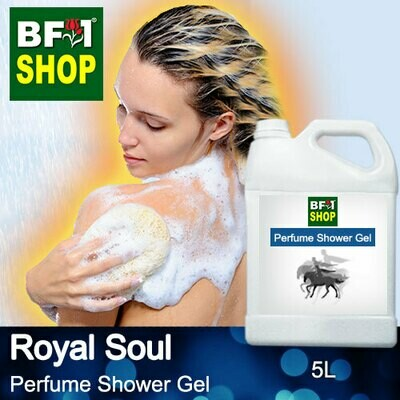 Perfume Shower Gel (PSG) - Royal Soul Aura - 5L