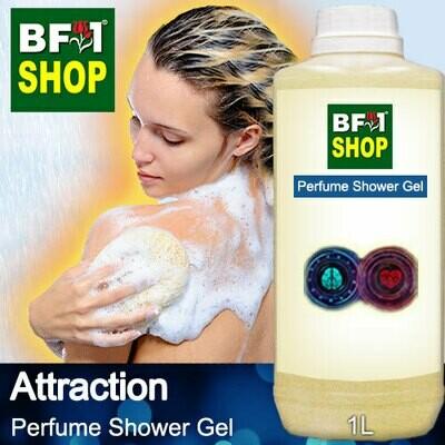Perfume Shower Gel (PSG) - Attraction Aura - 1L