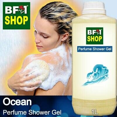 Perfume Shower Gel (PSG) - Ocean Aura - 1L