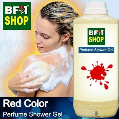 Perfume Shower Gel (PSG) - Red Color Aura - 1L