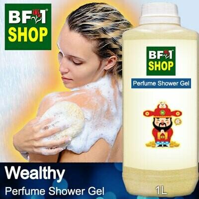 Perfume Shower Gel (PSG) - Wealthy Aura - 1L