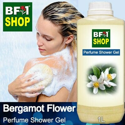 Perfume Shower Gel (PSG) - Bergamot Flower - 1L