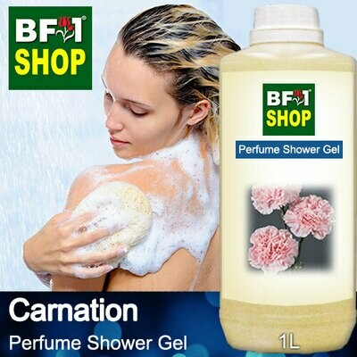 Perfume Shower Gel (PSG) - Carnation - 1L