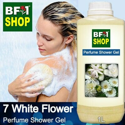 Perfume Shower Gel (PSG) - 7 White Flower - 1L