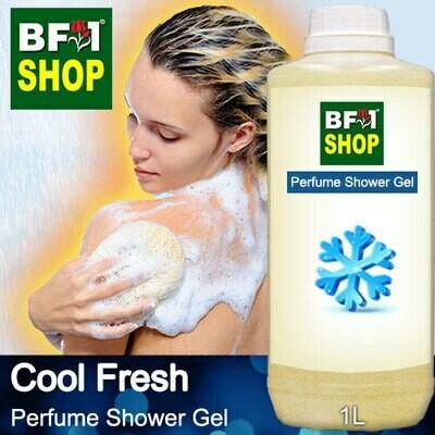 Perfume Shower Gel (PSG) - Cool Fresh Aura - 1L