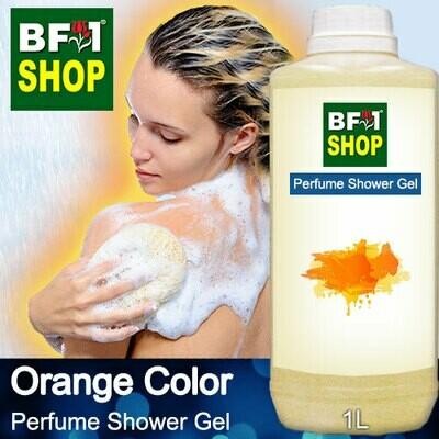 Perfume Shower Gel (PSG) - Orange Color Aura - 1L