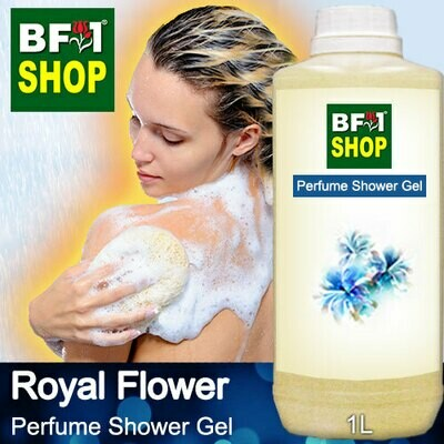 Perfume Shower Gel (PSG) - Royal Flower Aura - 1L