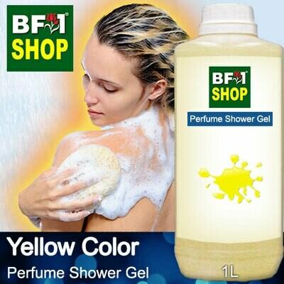 Perfume Shower Gel (PSG) - Yellow Color Aura - 1L