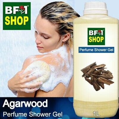 Perfume Shower Gel (PSG) - Agarwood - 1L
