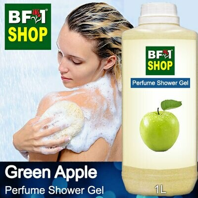 Perfume Shower Gel (PSG) - Apple Green Apple - 1L