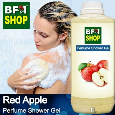 Perfume Shower Gel (PSG) - Apple Red Apple - 1L