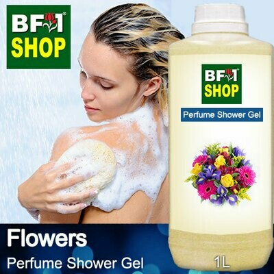 Perfume Shower Gel (PSG) - Flowers - 1L