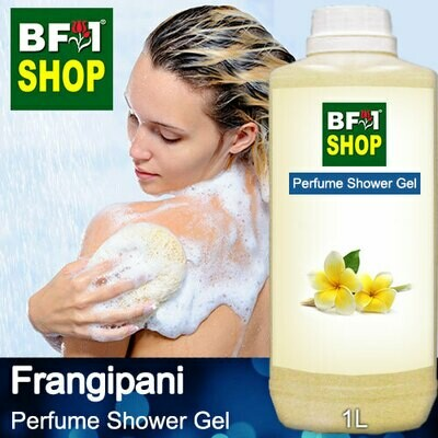 Perfume Shower Gel (PSG) - Frangipani - 1L