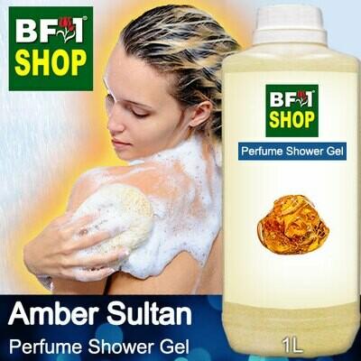 Perfume Shower Gel (PSG) - Amber Sultan Aura - 1L