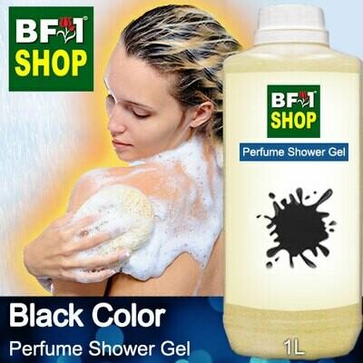 Perfume Shower Gel (PSG) - Black Color Aura - 1L