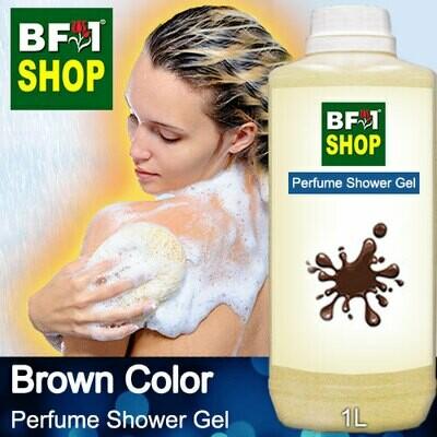 Perfume Shower Gel (PSG) - Brown Color Aura - 1L