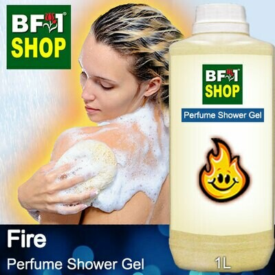 Perfume Shower Gel (PSG) - Fire Aura - 1L