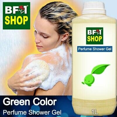 Perfume Shower Gel (PSG) - Green Color Aura - 1L