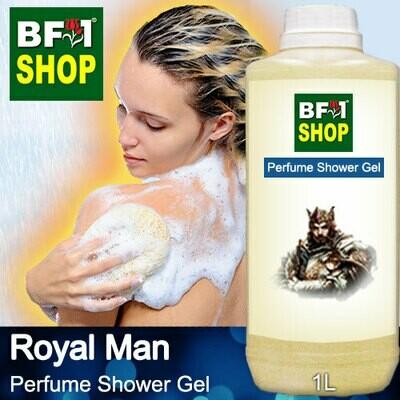 Perfume Shower Gel (PSG) - Royal Man Aura - 1L