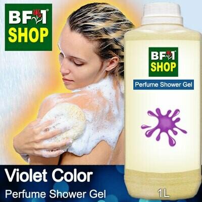 Perfume Shower Gel (PSG) - Violet Color Aura - 1L