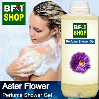 Perfume Shower Gel (PSG) - Aster Flower - 1L
