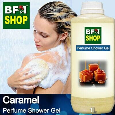 Perfume Shower Gel (PSG) - Caramel - 1L