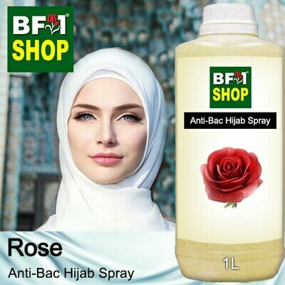 Anti-Bac Hijab Spray (ABHS) - Rose - 1L