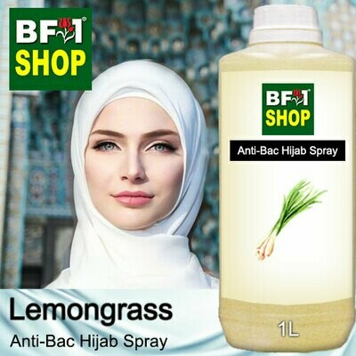 Anti-Bac Hijab Spray (ABHS) - Lemongrass - 1L
