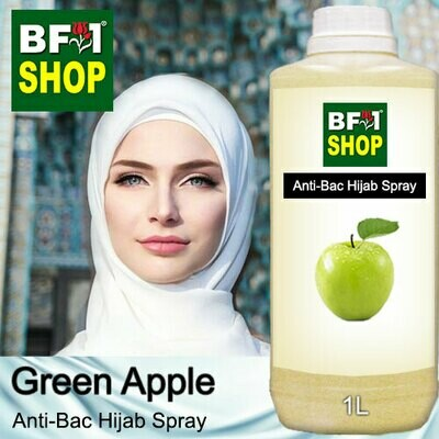 Anti-Bac Hijab Spray (ABHS) - Apple - Green Apple - 1L