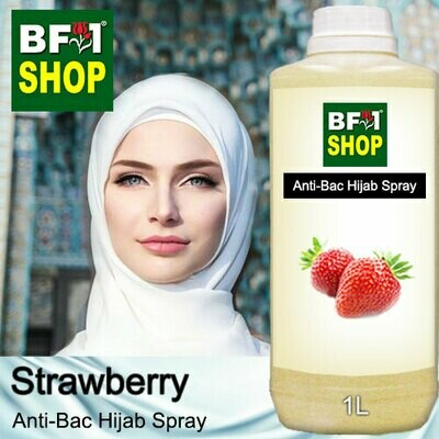 Anti-Bac Hijab Spray (ABHS) - Strawberry - 1L