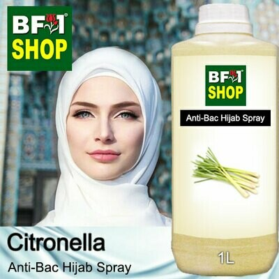 Anti-Bac Hijab Spray (ABHS) - Citronella - 1L