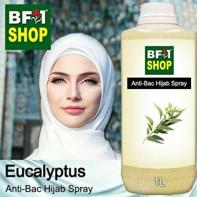 Anti-Bac Hijab Spray (ABHS) - Eucalyptus - 1L