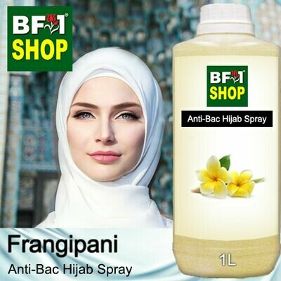 Anti-Bac Hijab Spray (ABHS) - Frangipani - 1L