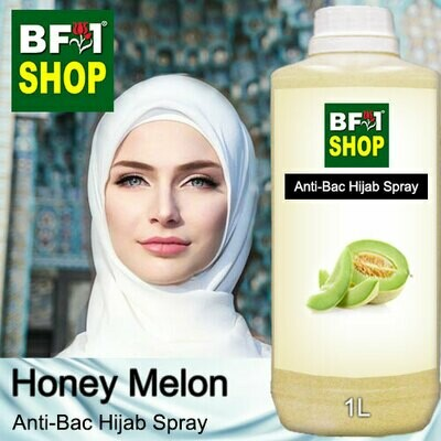 Anti-Bac Hijab Spray (ABHS) - Honey Melon - 1L
