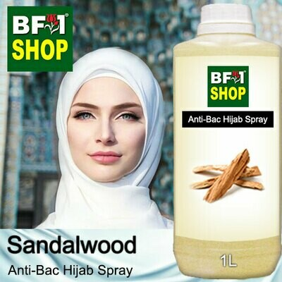 Anti-Bac Hijab Spray (ABHS) - Sandalwood - 1L