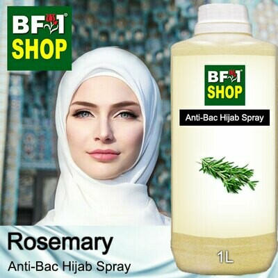 Anti-Bac Hijab Spray (ABHS) - Rosemary - 1L