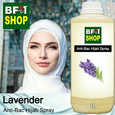 Anti-Bac Hijab Spray (ABHS) - Lavender - 1L