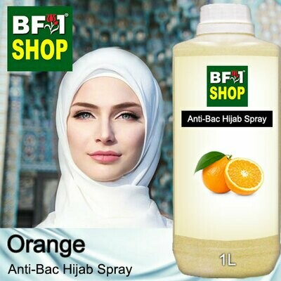 Anti-Bac Hijab Spray (ABHS) - Orange - 1L