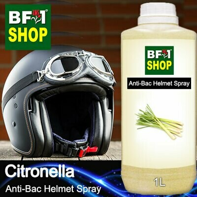 Anti-Bac Helmet Spray (ABHS1) - Citronella - 1L