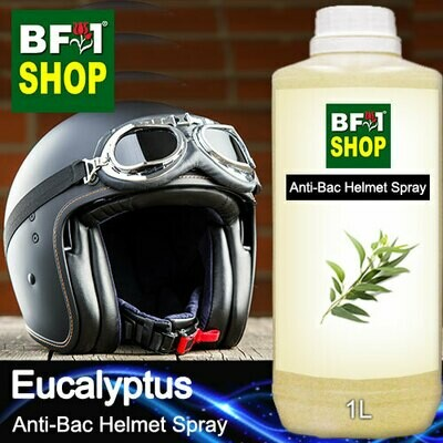 Anti-Bac Helmet Spray (ABHS1) - Eucalyptus - 1L