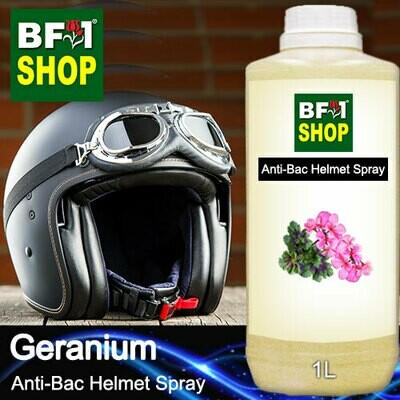 Anti-Bac Helmet Spray (ABHS1) - Geranium - 1L