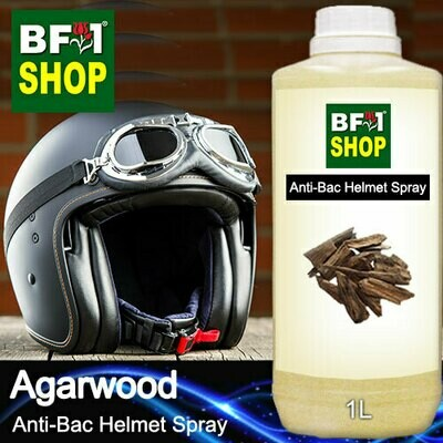 Anti-Bac Helmet Spray (ABHS1) - Agarwood - 1L