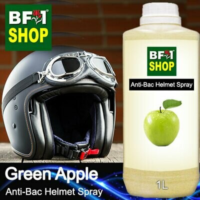 Anti-Bac Helmet Spray (ABHS1) - Apple - Green Apple - 1L