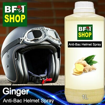 Anti-Bac Helmet Spray (ABHS1) - Ginger - 1L