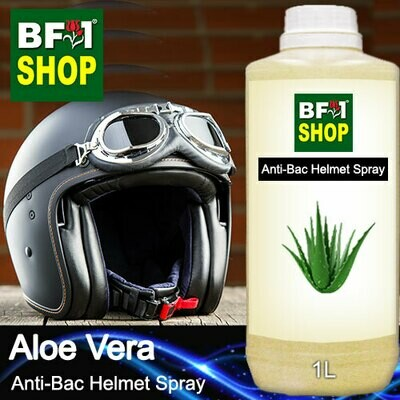 Anti-Bac Helmet Spray (ABHS1) - Aloe Vera - 1L