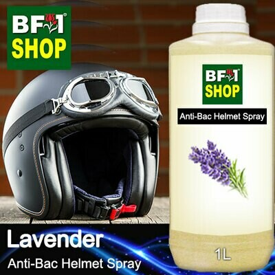 Anti-Bac Helmet Spray (ABHS1) - Lavender - 1L