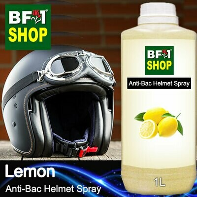 Anti-Bac Helmet Spray (ABHS1) - Lemon - 1L