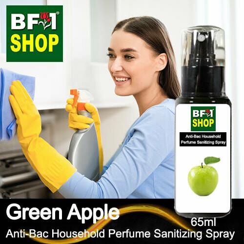 Anti-Bac Household Perfume Sanitizing Spray (ABHP) - Apple - Green Apple - 65ml