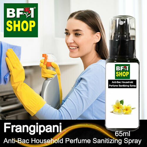 Anti-Bac Household Perfume Sanitizing Spray (ABHP) - Frangipani - 65ml