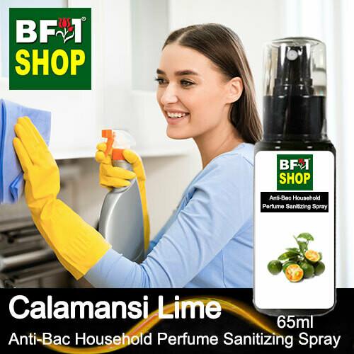 Anti-Bac Household Perfume Sanitizing Spray (ABHP) - lime - Calamansi Lime - 65ml